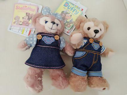Duffy and Shellie May couple bear (disneysea)