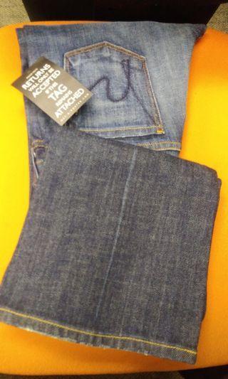 全新Citizen of Humanity kelly #001 low waist bootcut  (size 25)