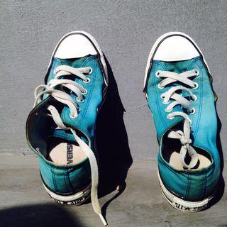 [Preloved] Converse Low All Star Light Blue without Box