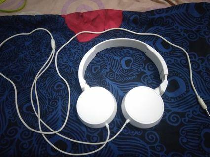 (Free ongkir) Miniso Earphone / Headphone (White/Putih)