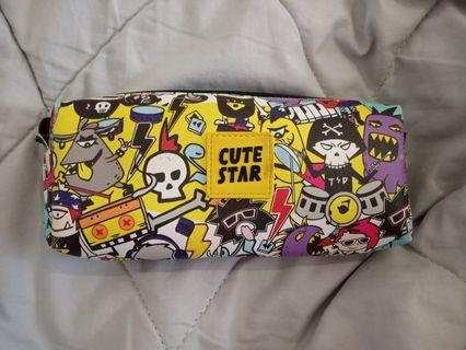Pop punk pencil case