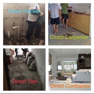 ⛔️One stop Direct Renovation Contractor at your services