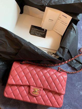 Full set Chanel Classic Flap Japan limited edition Sakura