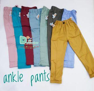 Celana Panjang anak perempuan (ankle pants)