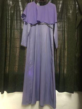 Mazlianulmaznan cape dress (MM BASIC)