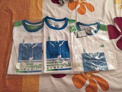 Standard Chartered Marathon T/shirt 2008, 2009, 2010