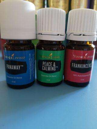 Young Living Essential Oils panaway Frankincese peace and calming 5ml