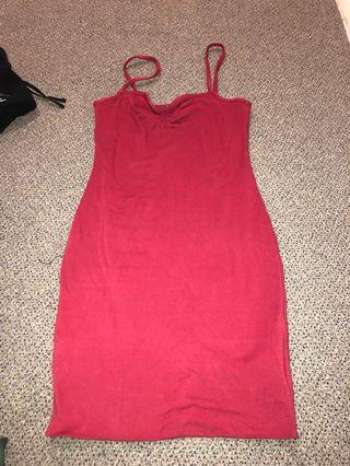 Kookai red dress never worn