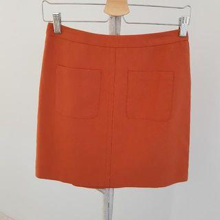 Forcast Skirt Pumpkin Colour