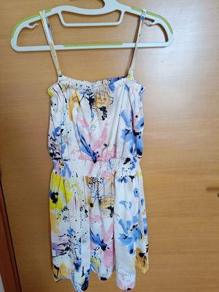 Preloved Floral Mini Dress