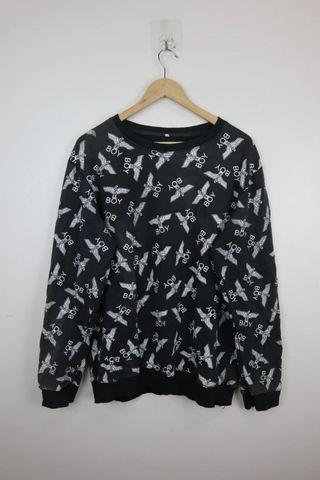 Vintage Boy London Full Print Sweatshirt
