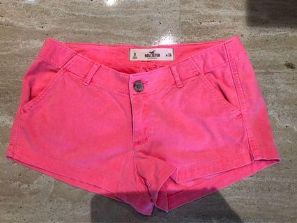 Hipster pink shorts