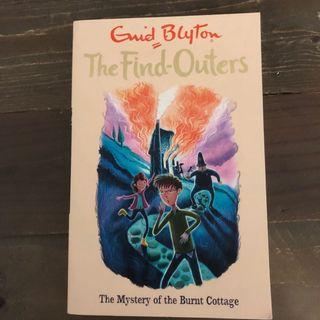 Enid Blyton: Mysteries of the Burnt Cottage