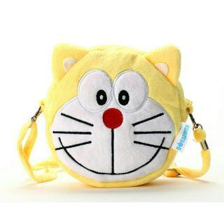*FREE POST to West Malaysia only / Ready stock* Doraemon sling bag @ yellow each as shown in design / color. Free delivery is applied for this item.