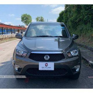 2013 Ssangyong Actyon Sports Double-Cab 2.0A