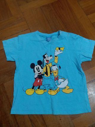 迪士尼 上衣 Disney Tee 小童 男童