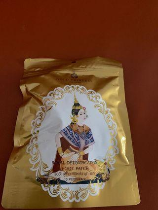 🚚 泰國皇家足膜(使用過1次)