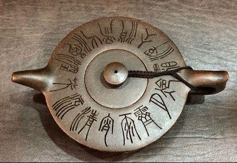宜興早期紫砂壺 僧帽壺