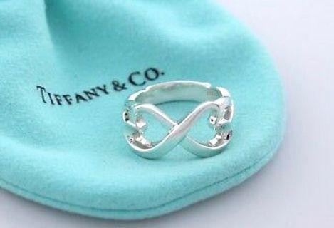 真品Tiffany & Co. Double Loving Heart 戒子