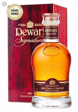 🚚 👍😆Award winning Dewar's Signature Limited Edition