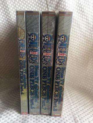 $20/4。one piece 海賊王 DVD