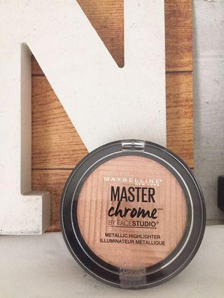 Maybelline Master Chrome Highlighter - Molten Gold