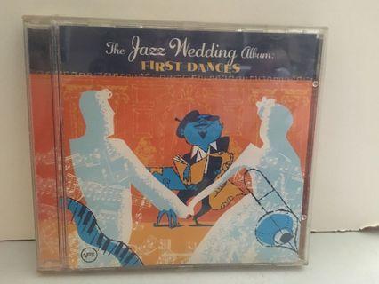 The JAZZ wedding album First dances CD 唱片