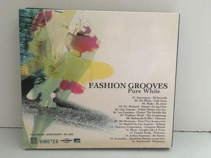 Fashion Grooves pure white 2CD 唱片