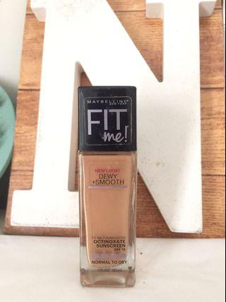 Maybelline Fit Me Foundation Dewy + Smooth 310