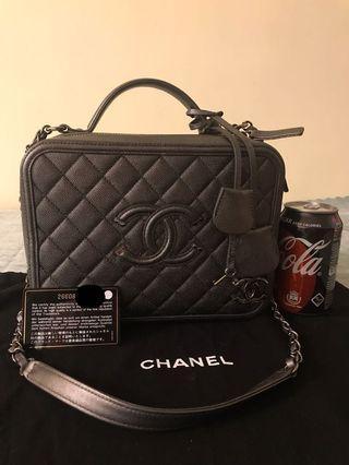 💯真品Chanel Vanity Bag