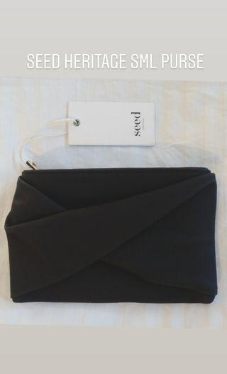 Seed heritage purse / clutch NWT