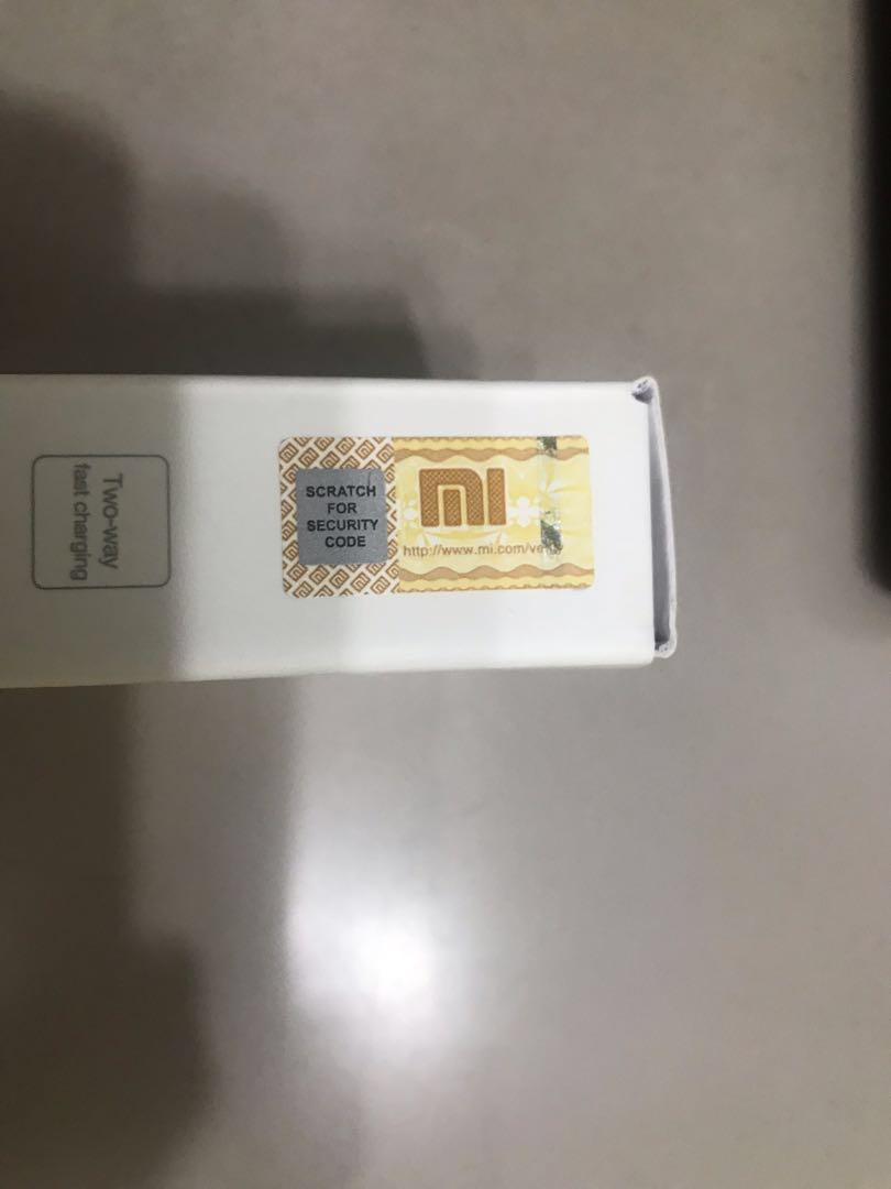 100% Authentic Xiaomi 20000mAh Power Bank 2C (Quick Charge)