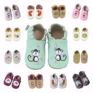 🇩🇪德國HOBEA🇩🇪全真皮手工寶寶 嬰兒鞋 學步鞋
