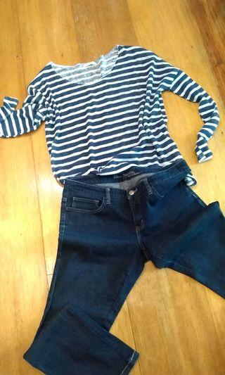 Pullover + Jeans set