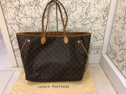 LV Neverfull GM / Authentic LV Neverfull (RM2450 only for today)