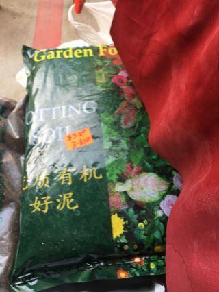 Potting soil garden type