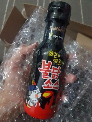 Samyang Hot Spicy Chicken Noodle Sauce