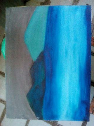 Lukisan Diatas Kanvas