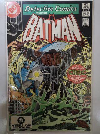 DC COMICS DETECTIVE COMICS #525