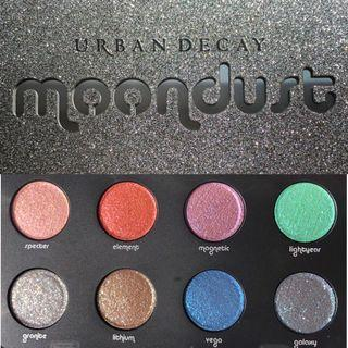 Urban decay moondust palette glitter eyeshadow