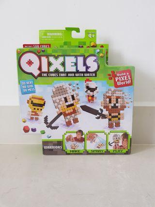 Qixels - Warriors cube pieces