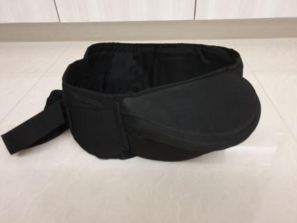 Hip seat / baby carrier (black colour) - #EndGameYourExcess