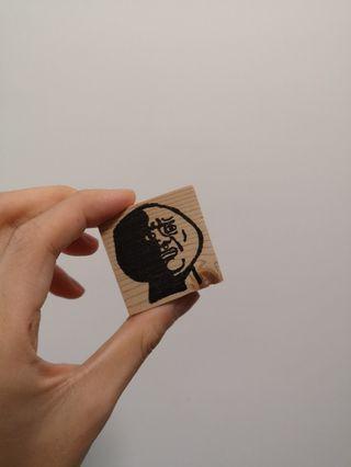 [手作橡皮印章、卡片] 黑人問號、Meme系列 [Handmade stamps and cards] Confused Nick Young and Memes