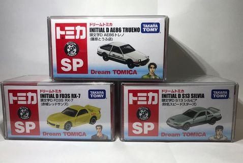 Tomica Initial D 7/11 AE86 RX7 S13