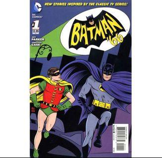 BATMAN '66 #1 (2013) 1st Issue!