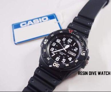 (歡迎要圖) Casio Resin Dive digital Watch 電子錶