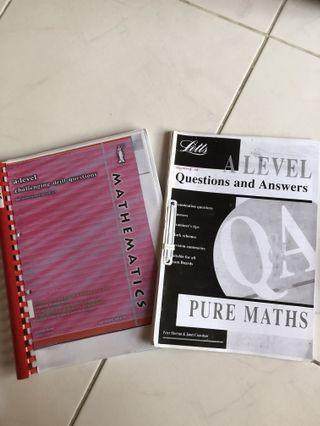 A Level Maths Books