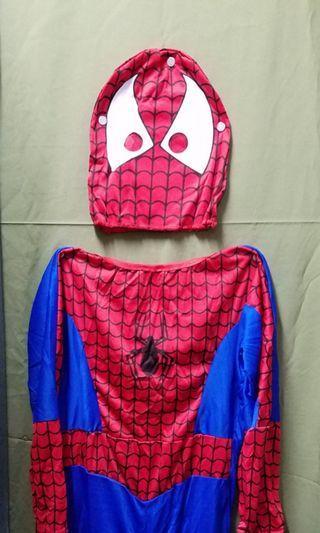 小童蜘蛛俠衫 Kid Spiderman costume