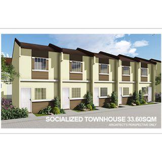 LOW COST HOUSE & LOT - 2 STOREY TOWNHOUSE AFFORDABLE & VERY ACCESSIBLE