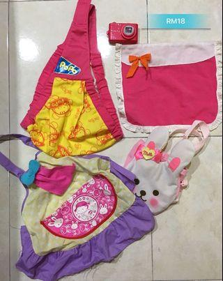 Mell chan& popo chan accessories